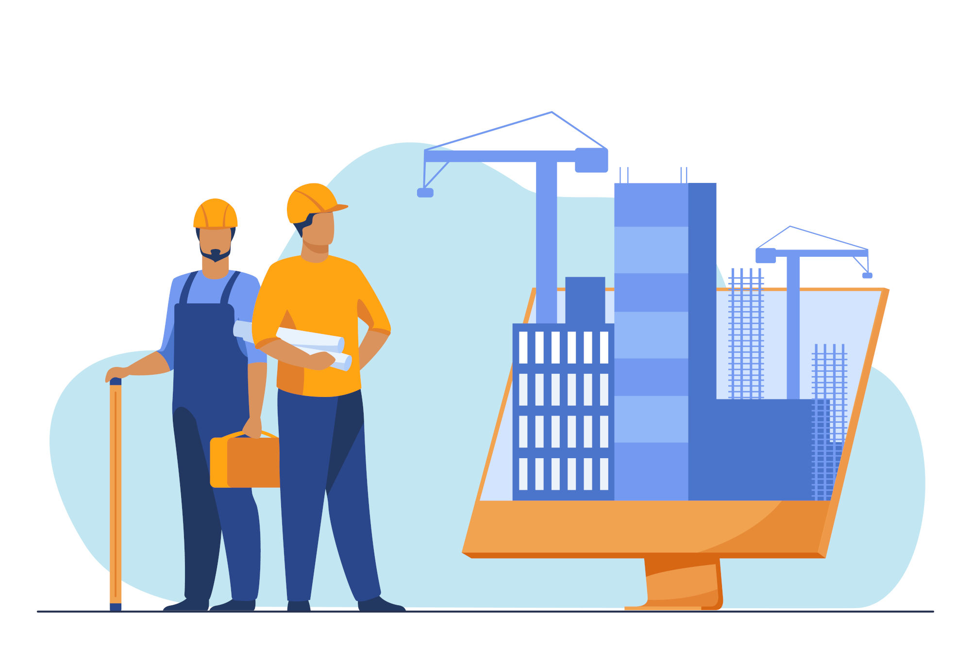 processus de définition d'organisation de chantier
