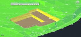 Terrassement en vue 3D