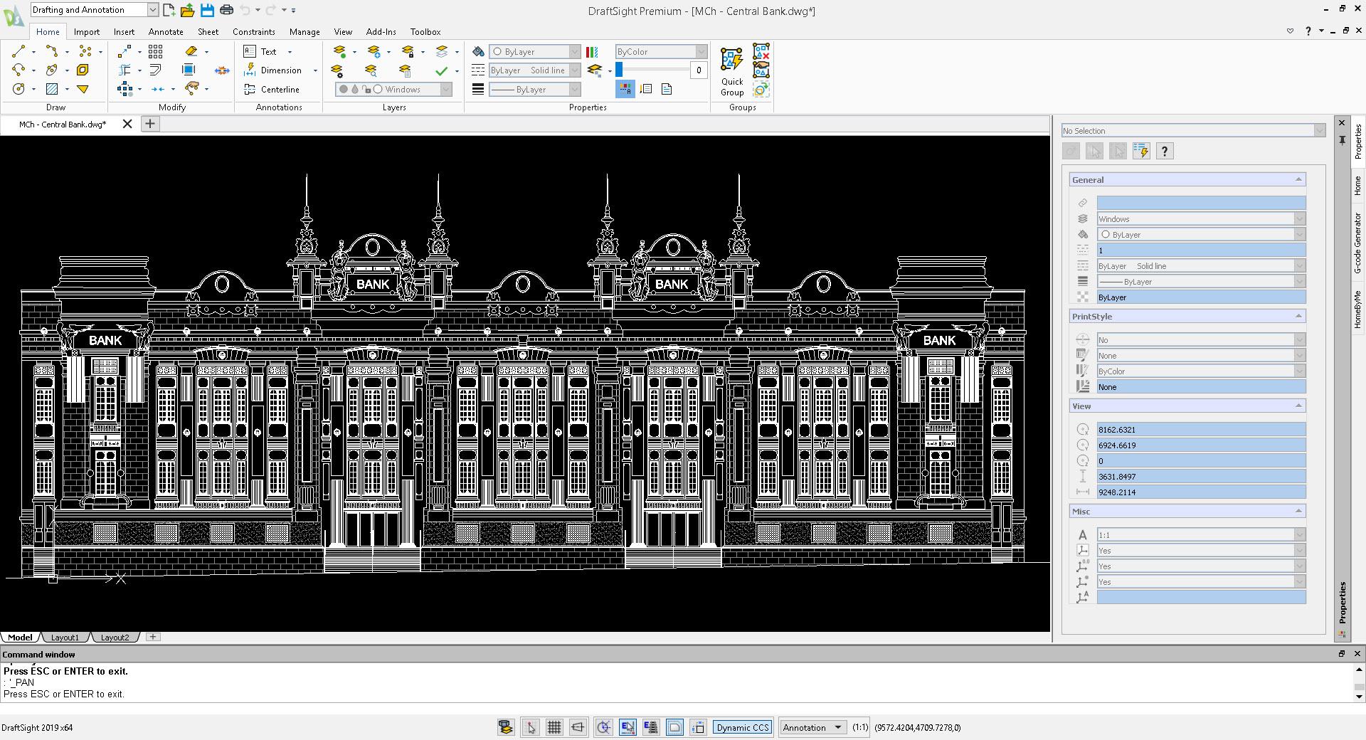 Draftsight : logiciel de DAO historique
