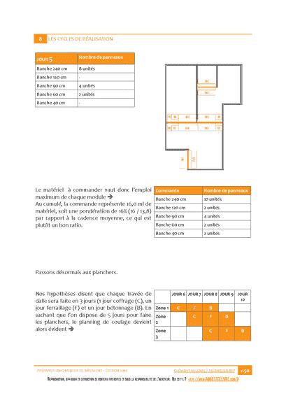 Préparer un Chantier de Bâtiment - Extrait du cahier d'exercices
