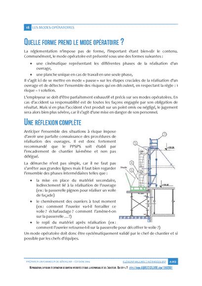 Préparer un Chantier de Bâtiment - Extrait du livre