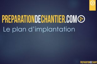 Faire un plan d'implantation