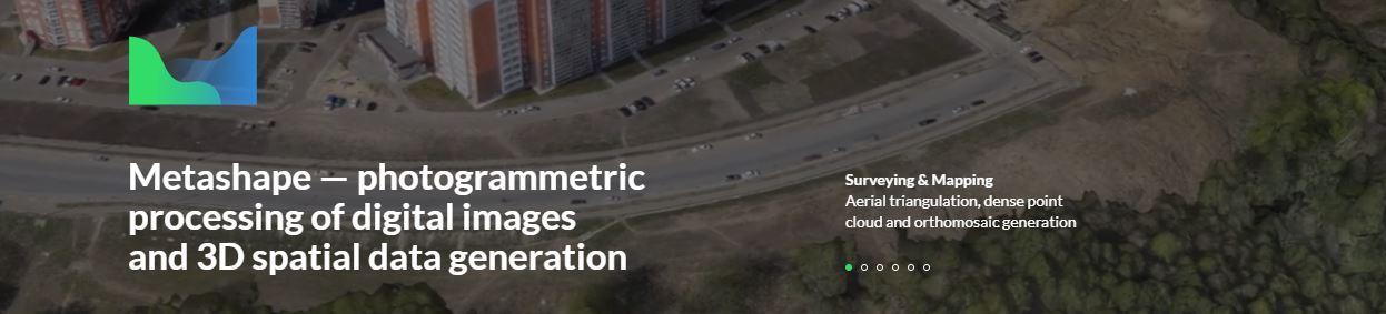 logiciel de photogrammétrie metashape