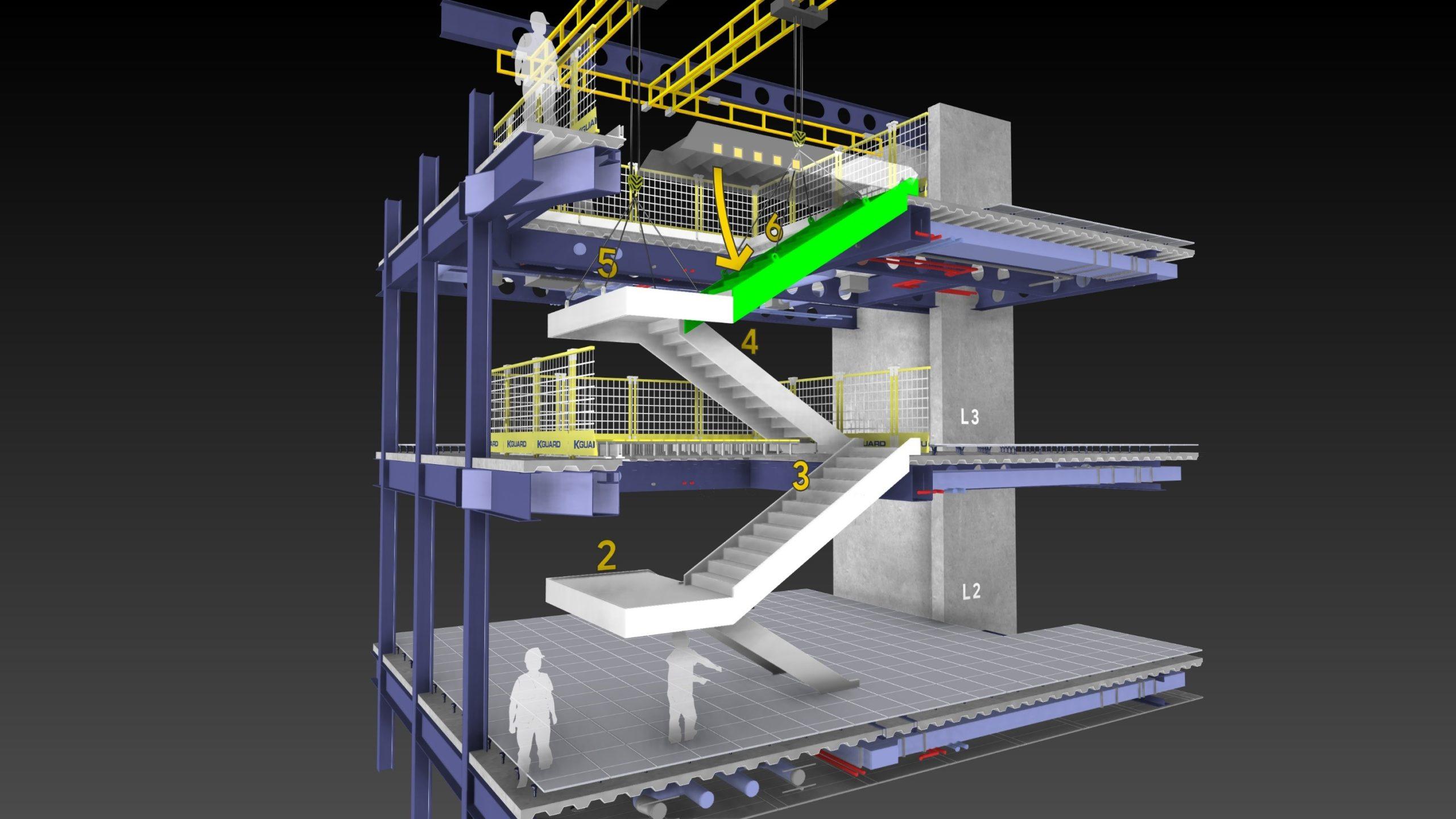 Mode opératoire 3D Crédits : James Bowles at Freeform www.freeform4d.co.uk
