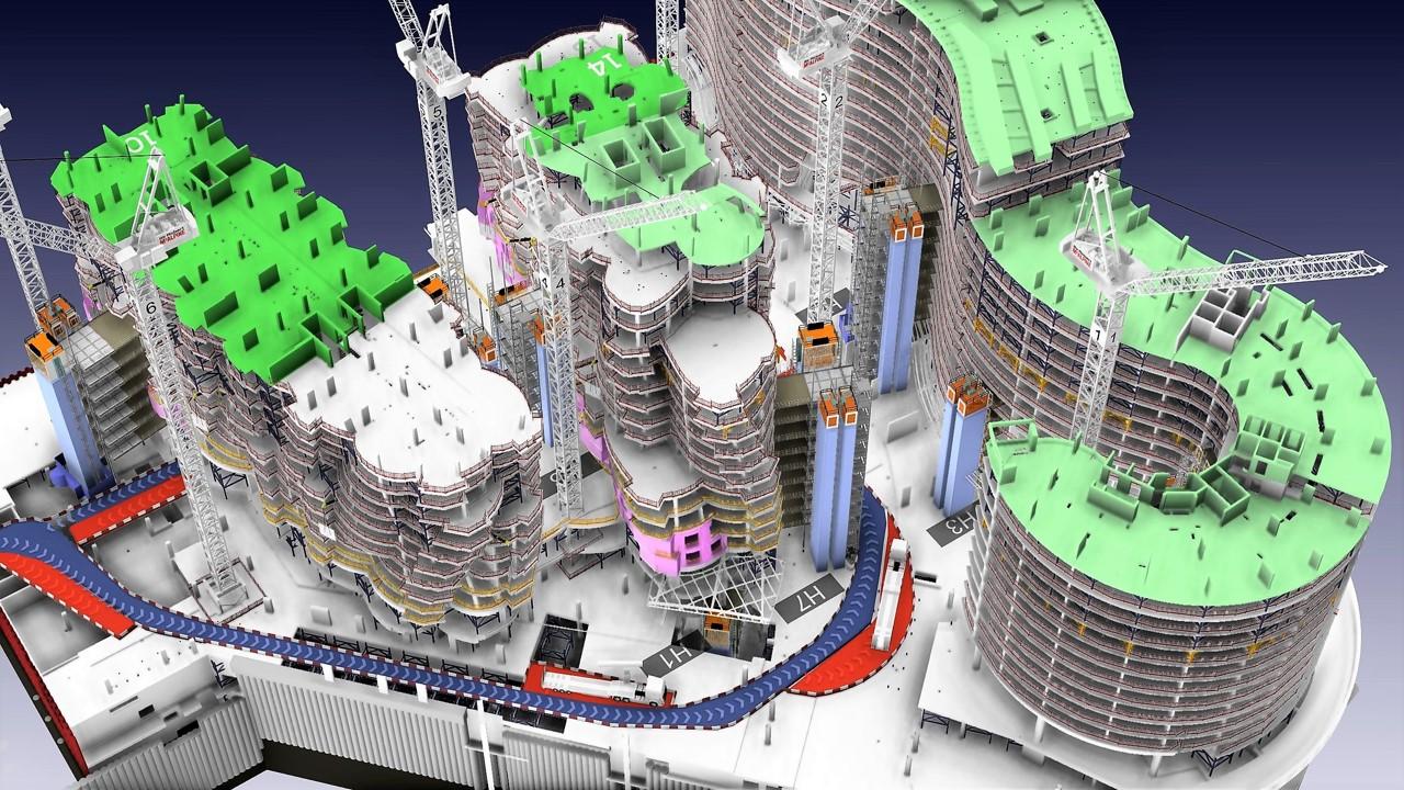 Installation de chantier 3D Crédits : James Bowles at Freeform www.freeform4d.co.uk